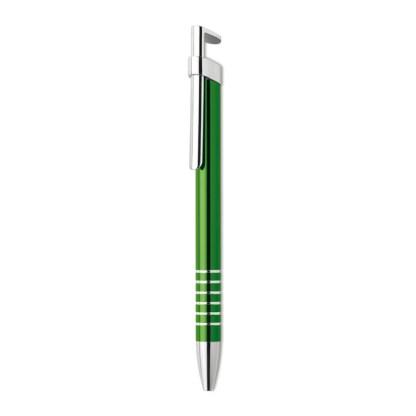 Aluminium pen with phone stand