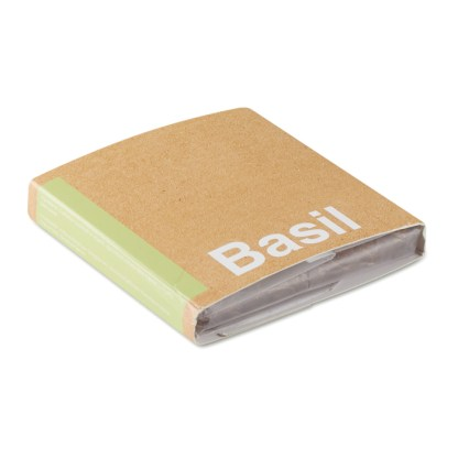 """Compost with seeds """"BASIL"""""""