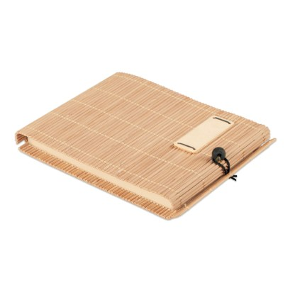 Bamboo 80 sheet notebook & pen
