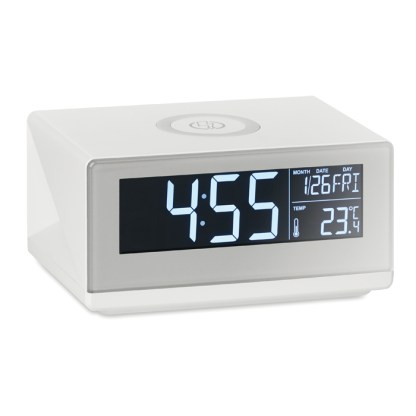 LED clock & wireless charger