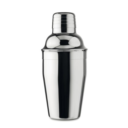 Cocktail shaker with UV plating