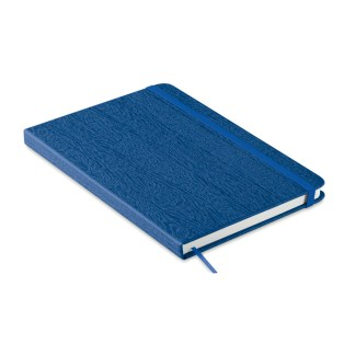 A5 notebook in PU with pen loop