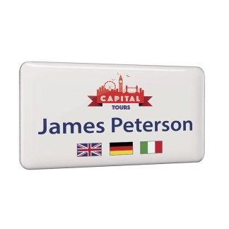 Personalised Metal Name Badges