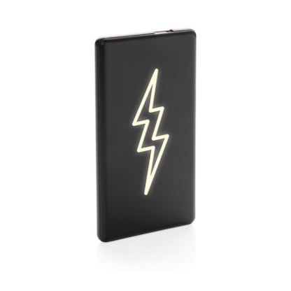 4.000 mAh light up logo powerbank