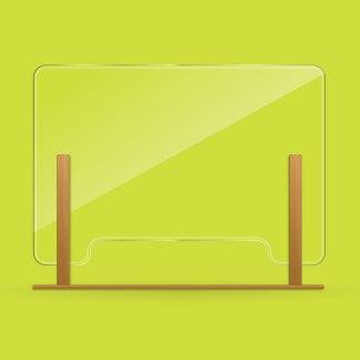 KeepSafe Screen - Oak sides and base, landscape
