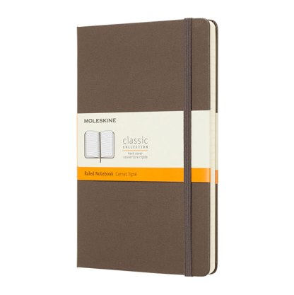 Moleskine® Classic L hard cover notebook