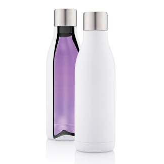 UV-C steriliser vacuum stainless steel bottle