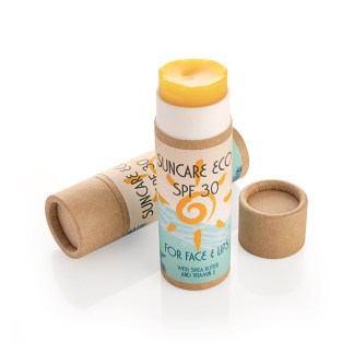 Eco suncare SPF30 stick for face and lips