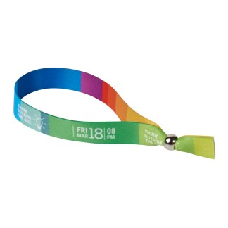 Evi sublimation festival bracelet (metal)