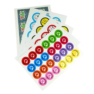 PCL Paper Stickers