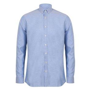 Modern Long Sleeve Slim Fit Oxford Shirt