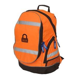 Hi-vis London rucksack