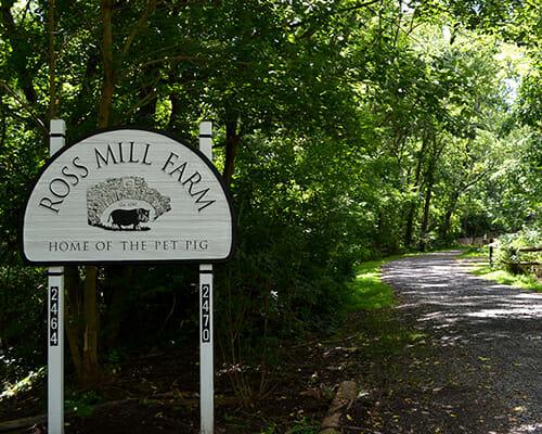 Ross Mill Farm Directions