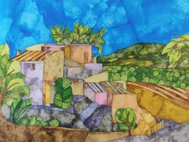 Casa Rural. Inks and Dyes. 38 x 28 cm. POA