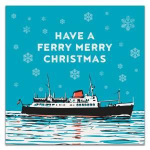 Ferry Christmas Card