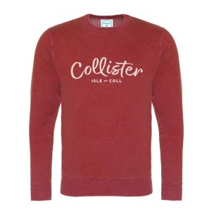 Collister Sweatshirt - Island Red