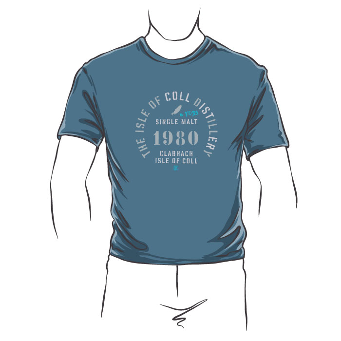 Isle of Coll Distillery T-Shirt