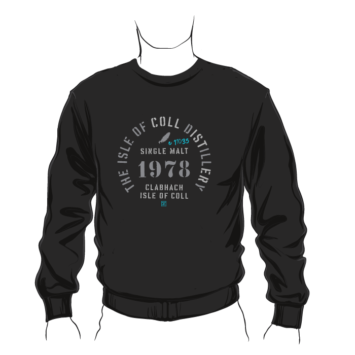 Isle of Coll Distillery Sweatshirt