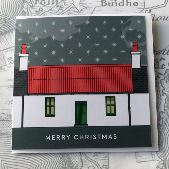 Isle of Coll Christmas Card