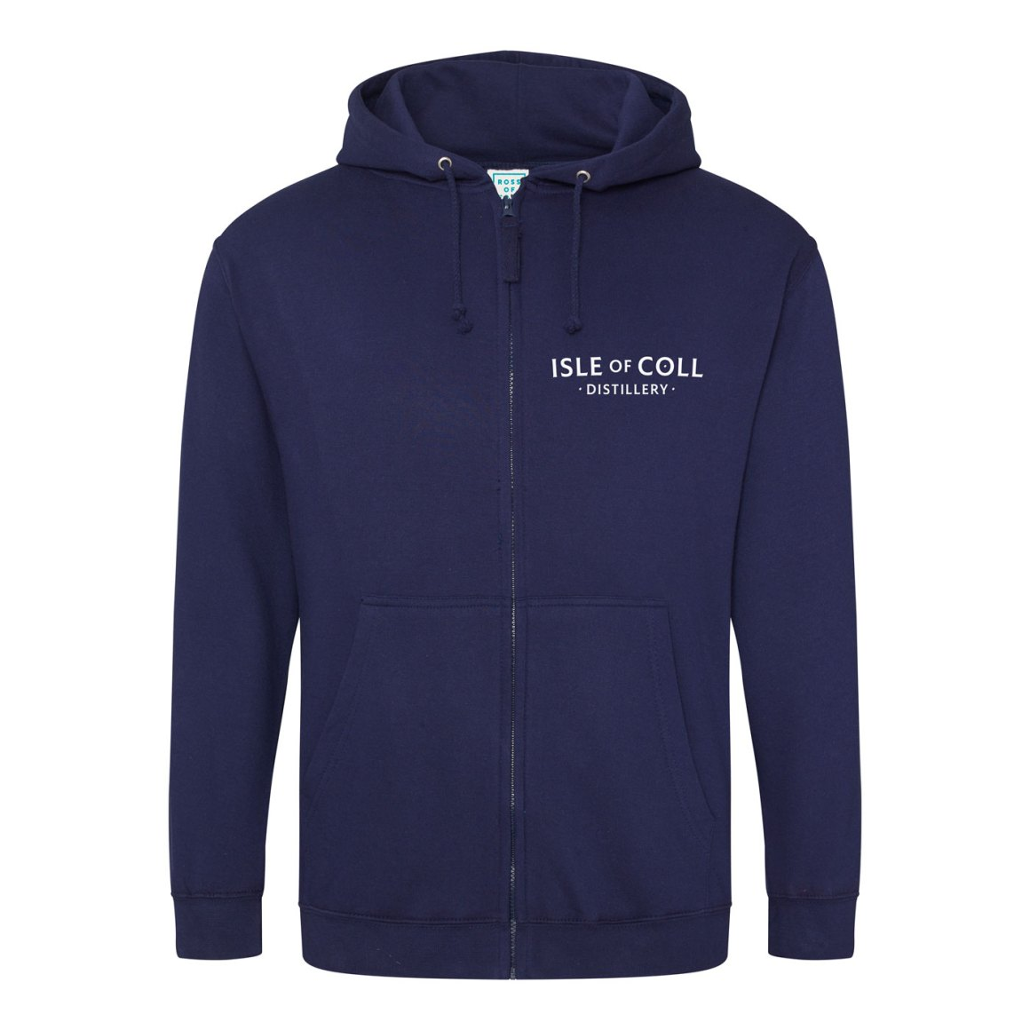 Isle of Coll Distillery Zipped Hoodie