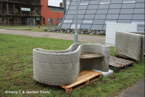 First two-storey 3D printed house in Europe -Detail