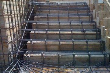 Costruzioni in cemento armato rosso service ivrea - Scale in cemento armato ...