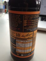 L&P back label