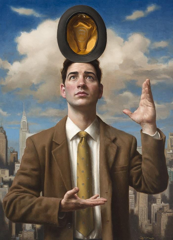 Oil Painting Photography - Balancing-Act