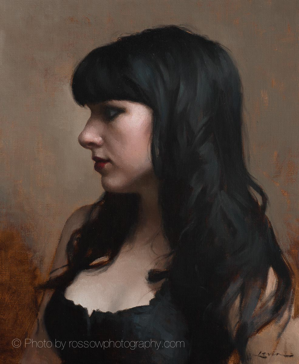 Artwork Photography of Goth Girl