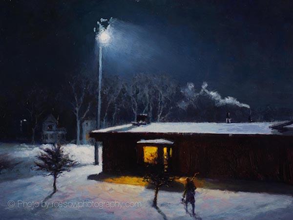 Artwork Photography of Night-Rink-12x16-170620-Carl Bretzke-slider
