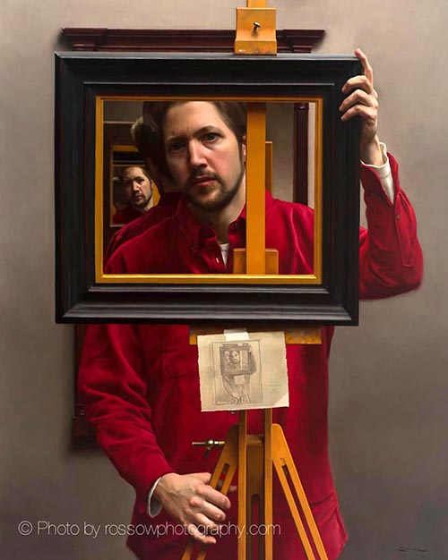 Steven J. Levin Self Portrait