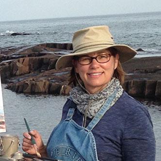 Artist Sue Wipf