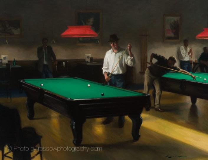 Artwork Photography of 4th street billiards