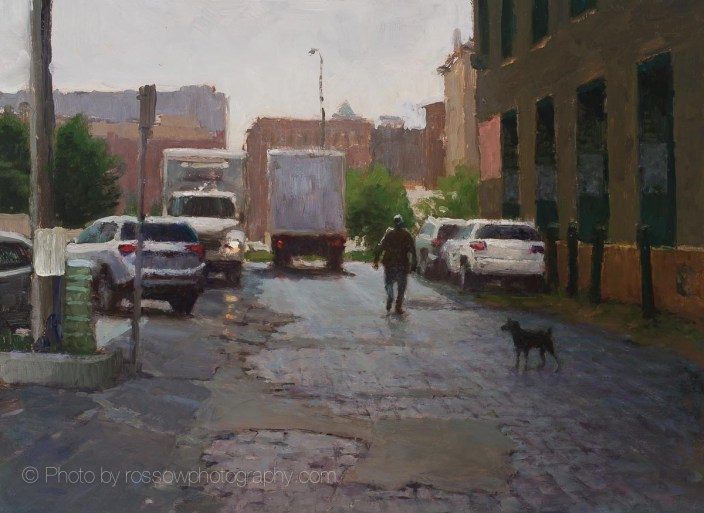 Artwork Photography of Alley Delivery