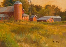 Herberg Farm Morning 8x13