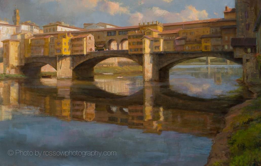 Rippling Light Ponte Vecchio