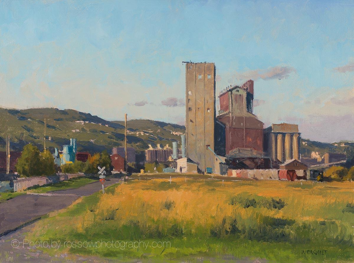 Artwork Photography of Superior Mills, Duluth Hills