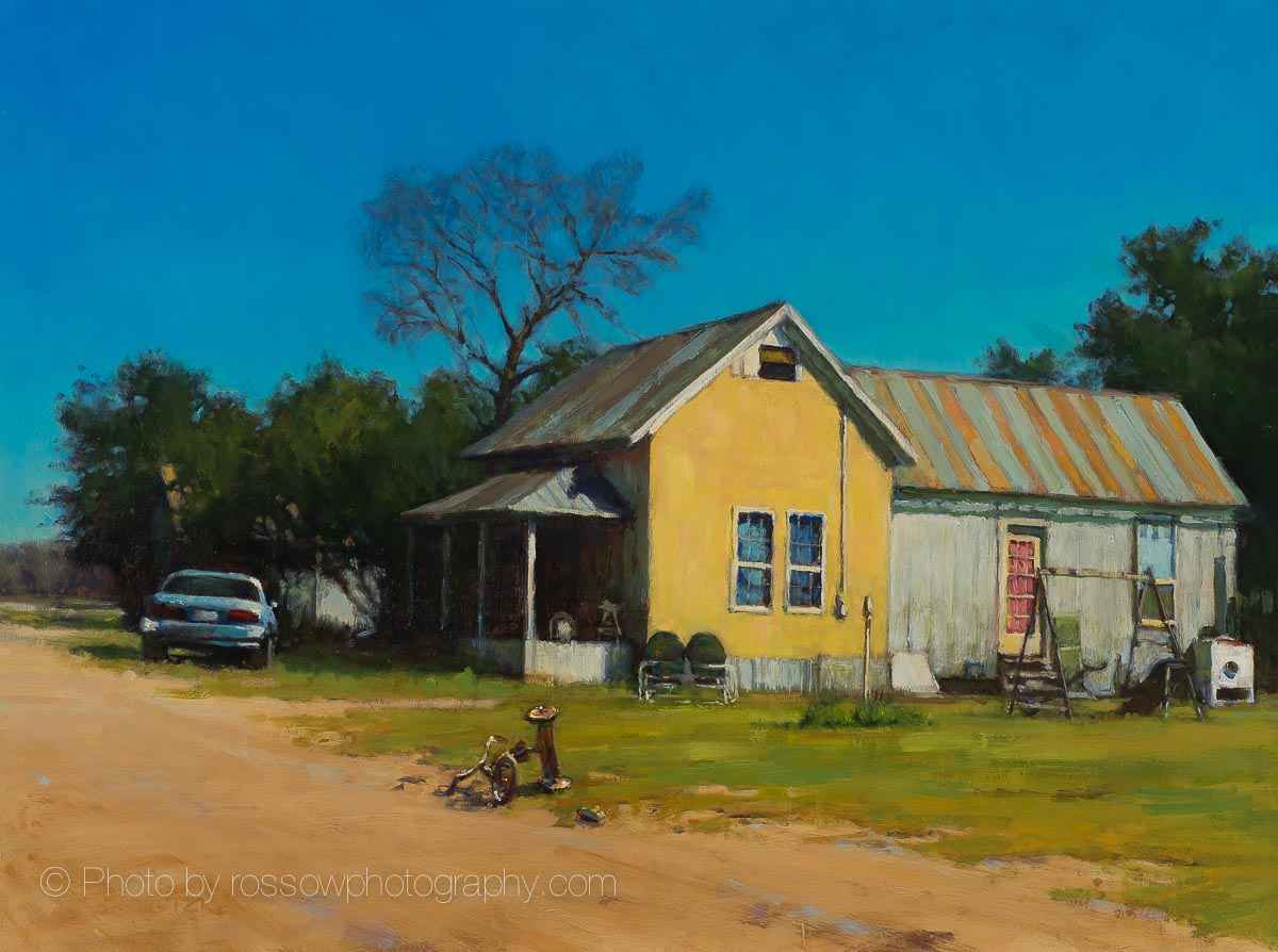 Artwork Photography of Western Tricycle