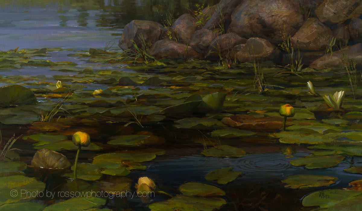 Artwork Photography of Lilly Pads-by-Mary Pettis