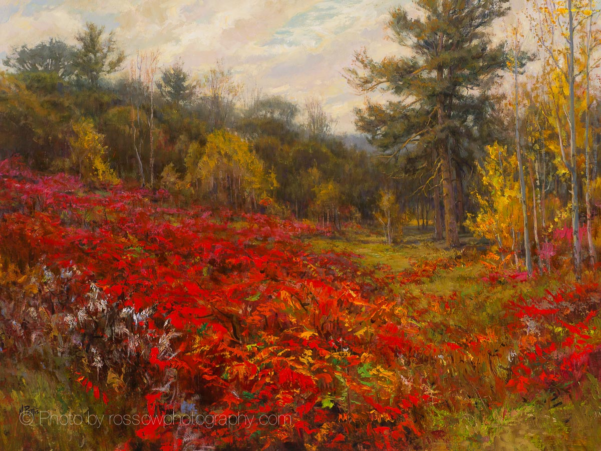 Artwork Photography of Sumac Field by Mary Pettis