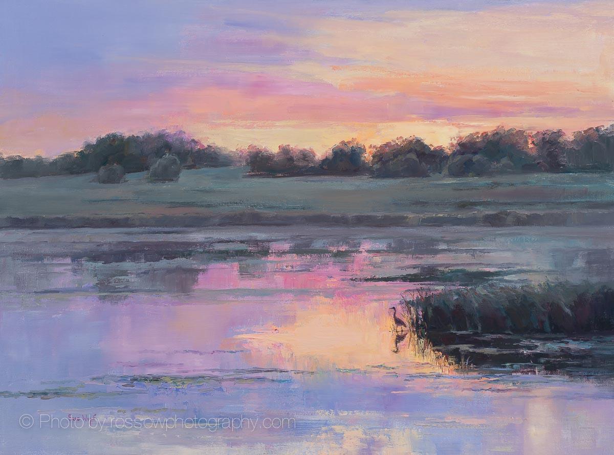 Evening Solitude-Sue Wipf