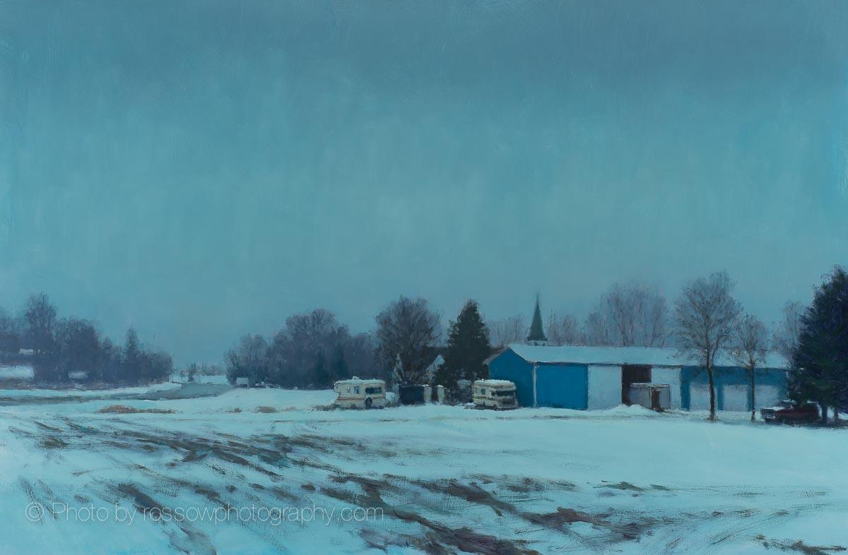 Field-at-dusk by Carl Bretzke