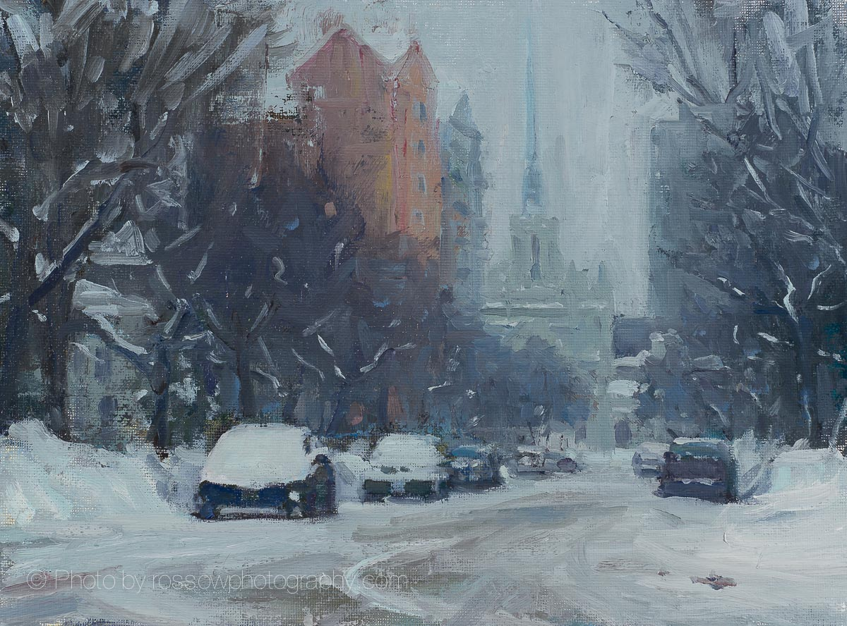 Winter Sketch on Douglas-Carl Bretzke