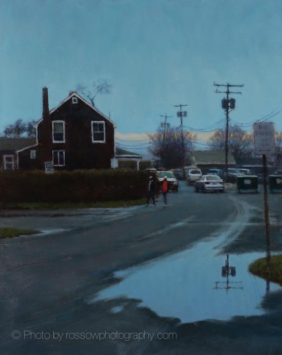 Sag Harbor Back Street 20x16