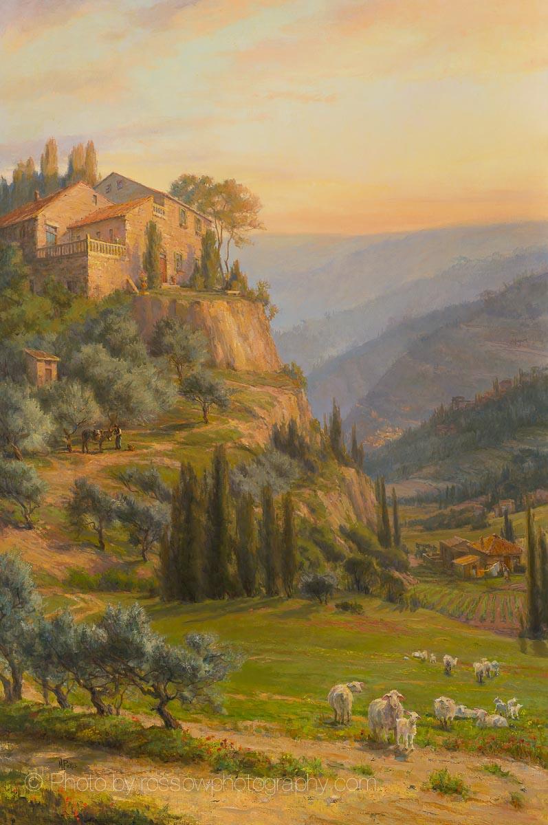 Tuscan Dawn 60x40