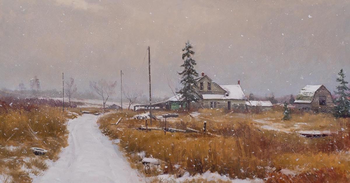 Prairie Requiem 28x40