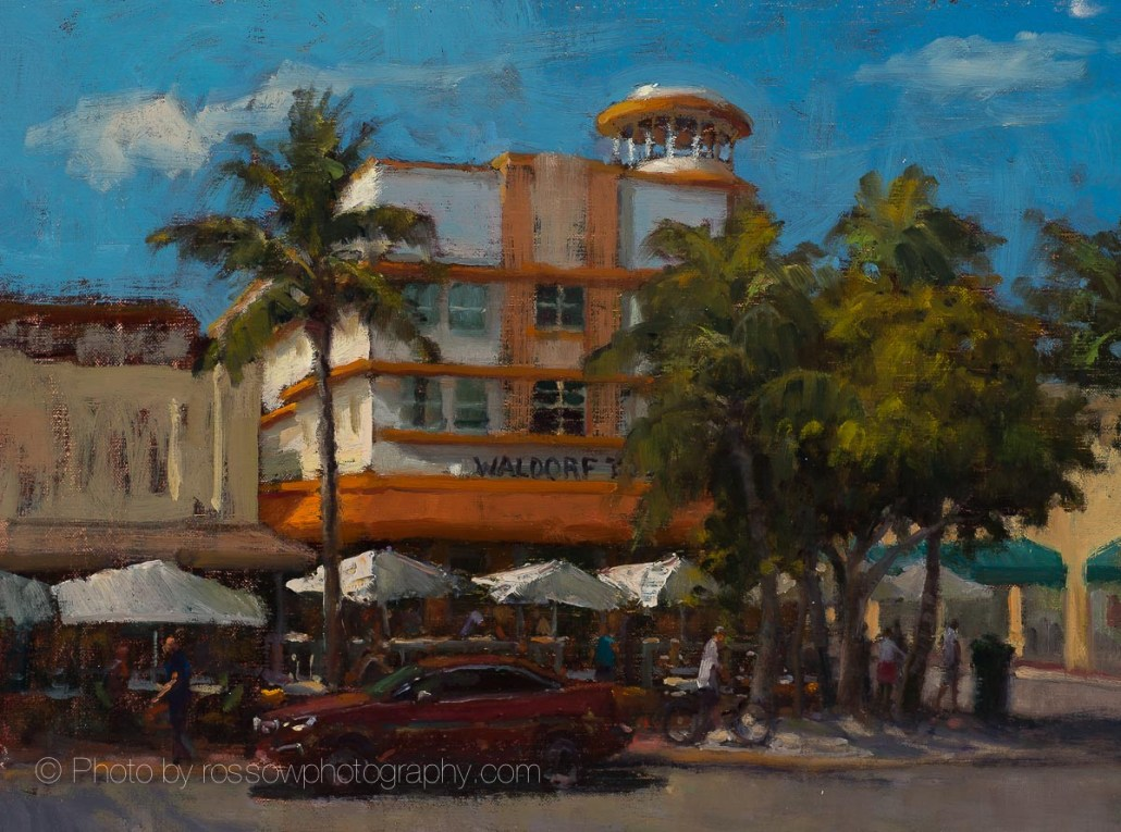 South Beach Waldorf 12x16