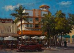 South Beach Waldorf 12x16