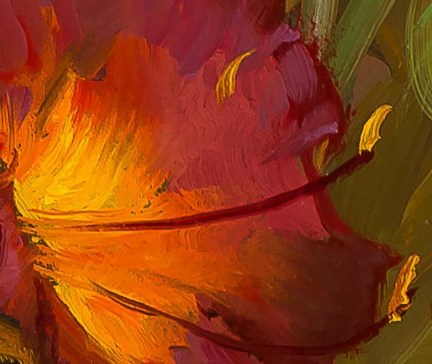 My-Summer-Lilies-detail