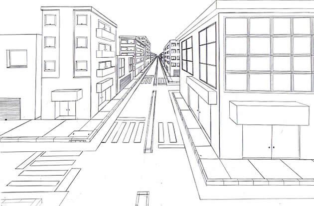 Week 6/7: Perspective Drawing
